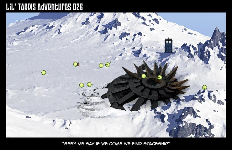 Lil' TARDIS Adventures 026 by DrOfDemonology