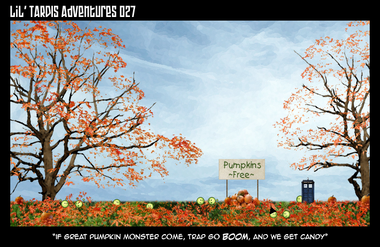 Lil' TARDIS Adventures 027 by DrOfDemonology