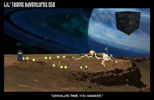 Lil' TARDIS Adventures 056 by DrOfDemonology