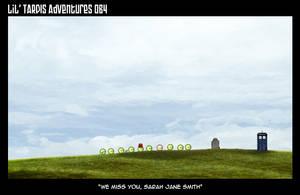 Lil' TARDIS Adventures 064 by DrOfDemonology