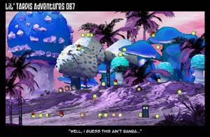Lil' TARDIS Adventures 067 by DrOfDemonology