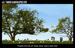 Lil' TARDIS Adventures 070 by DrOfDemonology