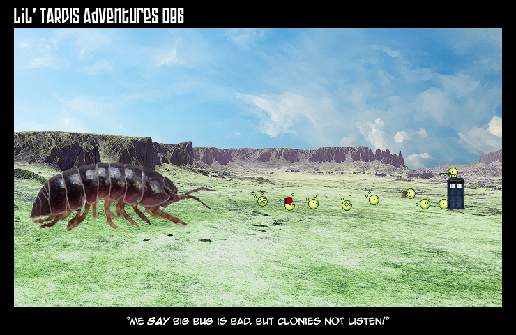 Lil' TARDIS Adventures 086 by DrOfDemonology
