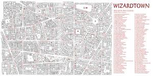 Map of Wizardtown