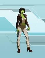 Star Trek Calypso: Nessa by DrOfDemonology