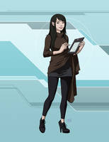 Star Trek Calypso: T'Prin by DrOfDemonology