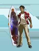 Star Trek Calypso: David Kalakona by DrOfDemonology
