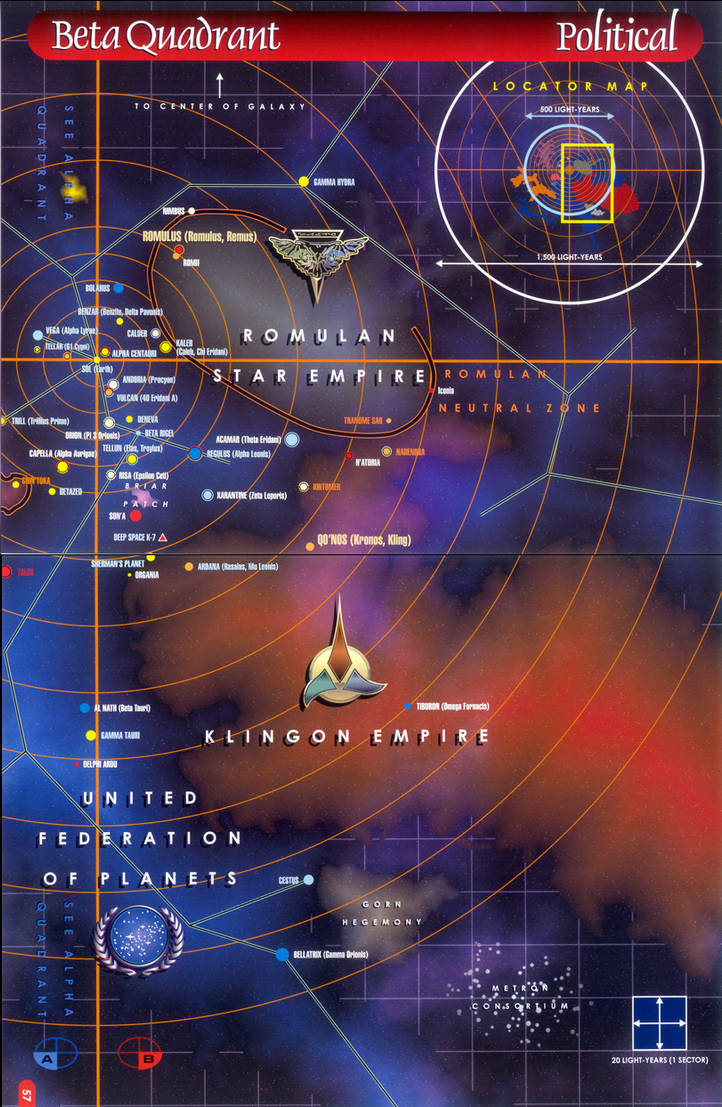 Star Trek Map 4 By Drofdemonology On Deviantart