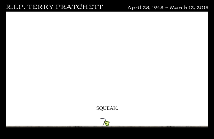 R.I.P. Terry Pratchett by DrOfDemonology