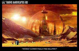 Lil' TARDIS Adventures 100 by DrOfDemonology