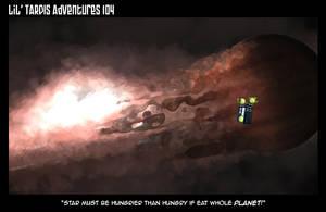 Lil' TARDIS Adventures 104 by DrOfDemonology