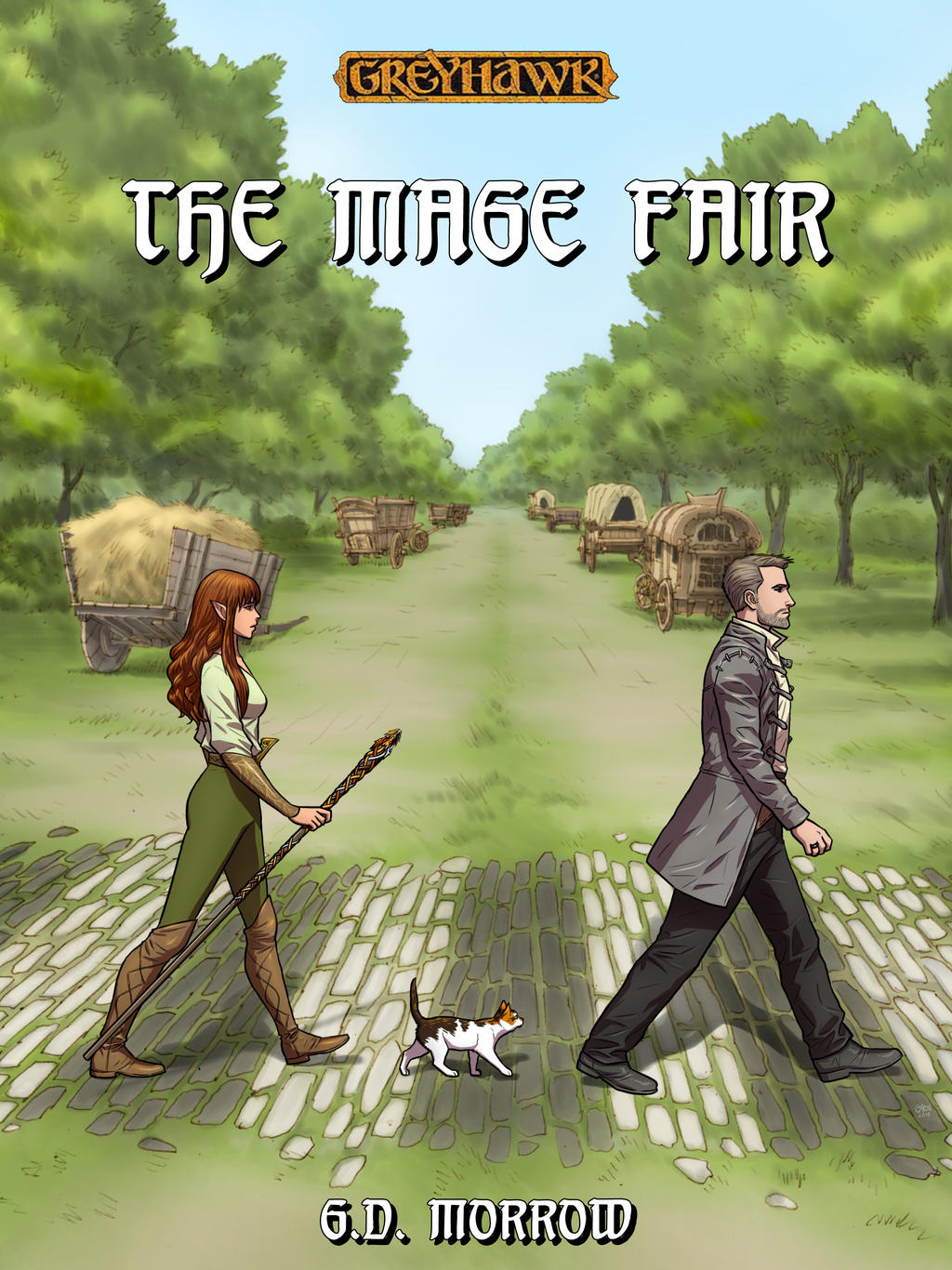 The Mage Fair: Cover