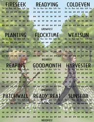 Greyhawk Calendar