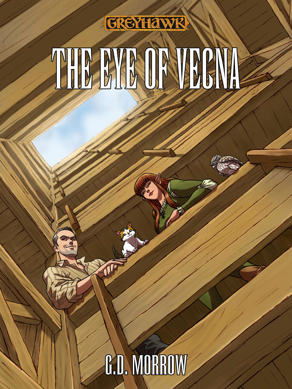 The Eye of Vecna: Cover