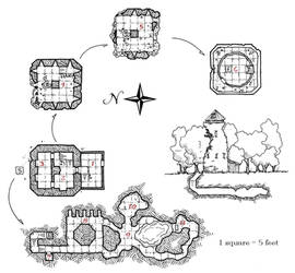 Maps and Dungeon Tiles on DungeonCrawl - DeviantArt