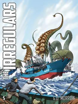 The Irregulars 5: Unleash the Kraken - Cover