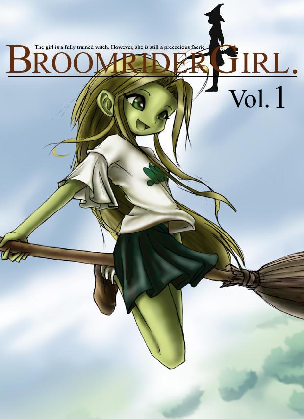 Broomrider Girl by DrOfDemonology