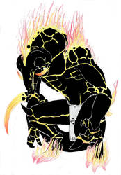 Released Hollow Yamamoto by DragonlordRynn