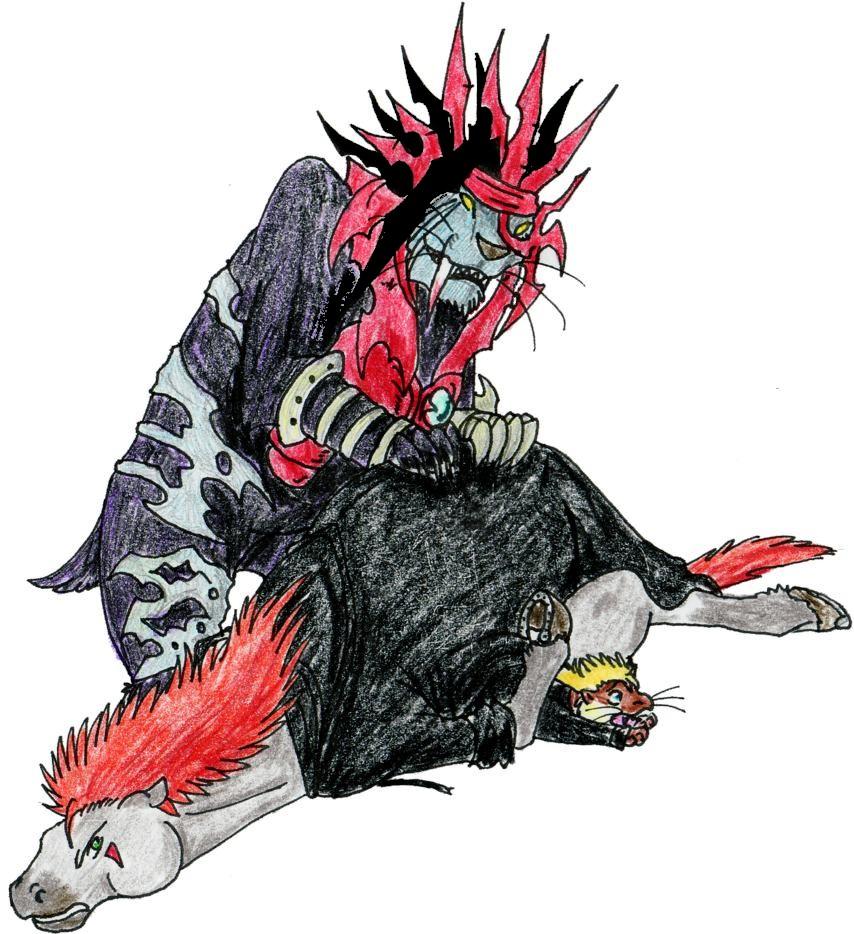 Demon beats Heartless by DragonlordRynn