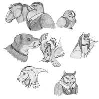Criminal Pets by DragonlordRynn