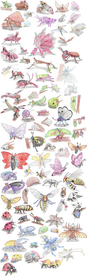 Insect Pokemon