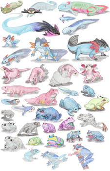 Amphibian Pokemon