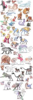 Dog Pokemon by DragonlordRynn