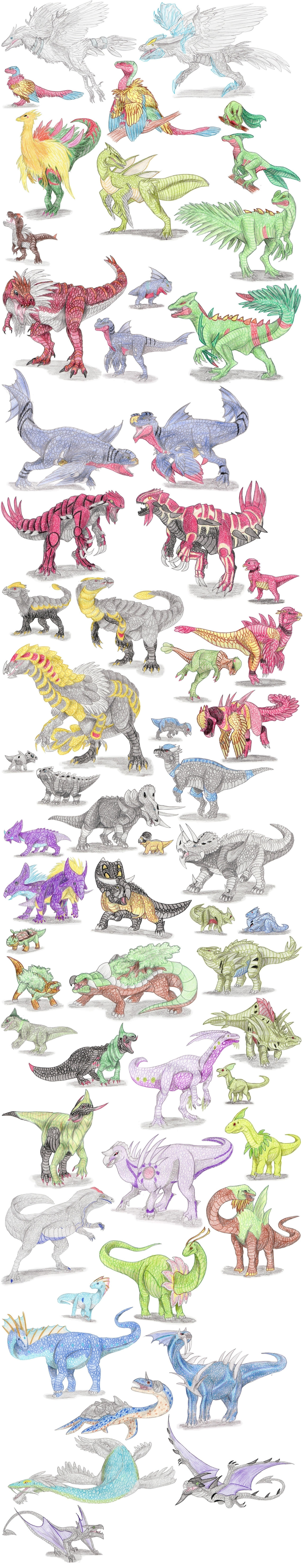 Dinosaur Pokemon
