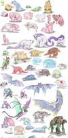 Other Mammalian Pokemon