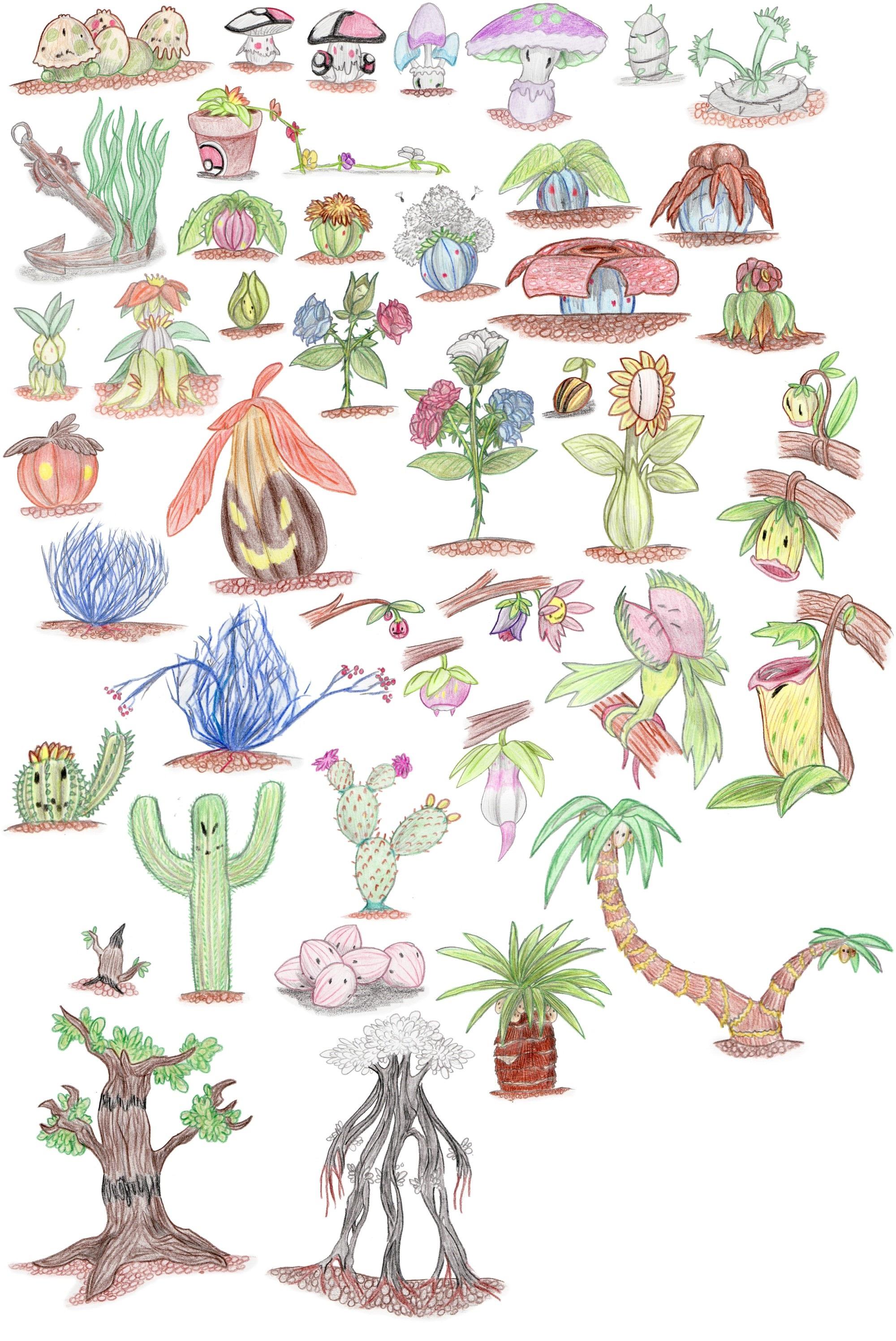 Plant Pokemon Images Pokemon Images