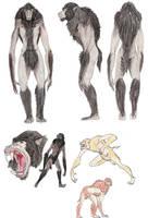Werewolf by DragonlordRynn