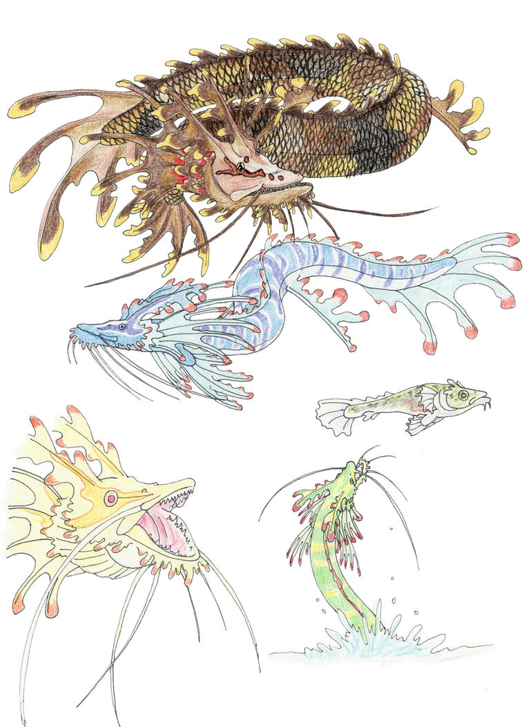 Eastern Dragon by DragonlordRynn
