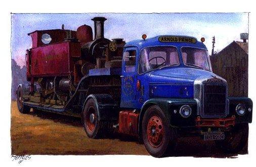 Scammell Highwayman lowloader by Artistjeffries