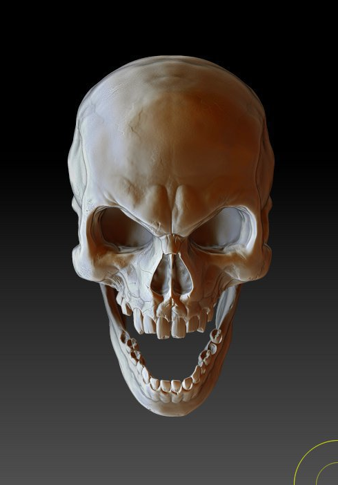Evil Skull by juliangibson