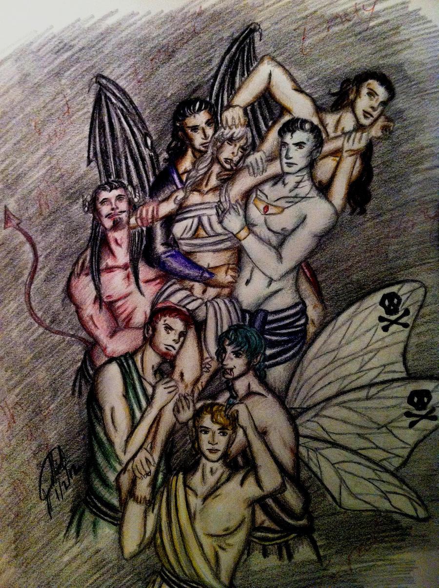 Seven Angels and Demons  Wattpad