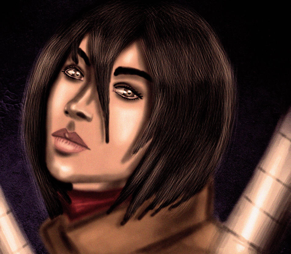 Mikasa by JaqualM92