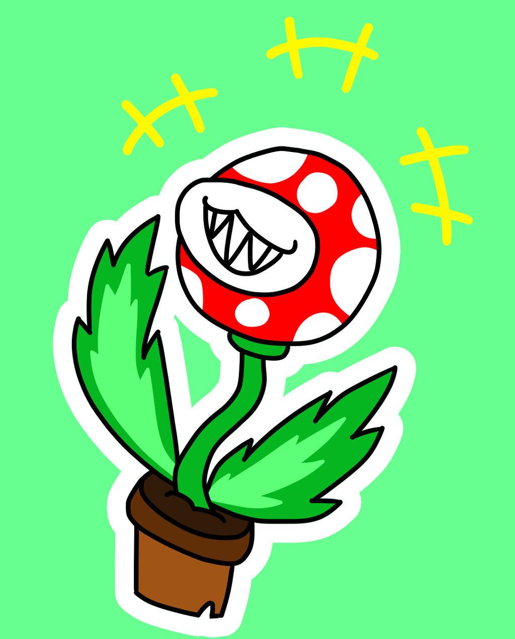 Piranha Plant Chuckle