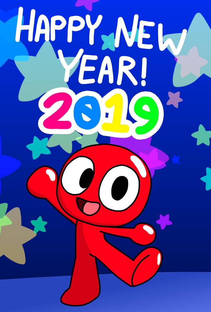 Happy New Year 2019 by RedJelloMix