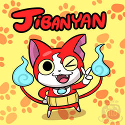 Jibanyan Doodle