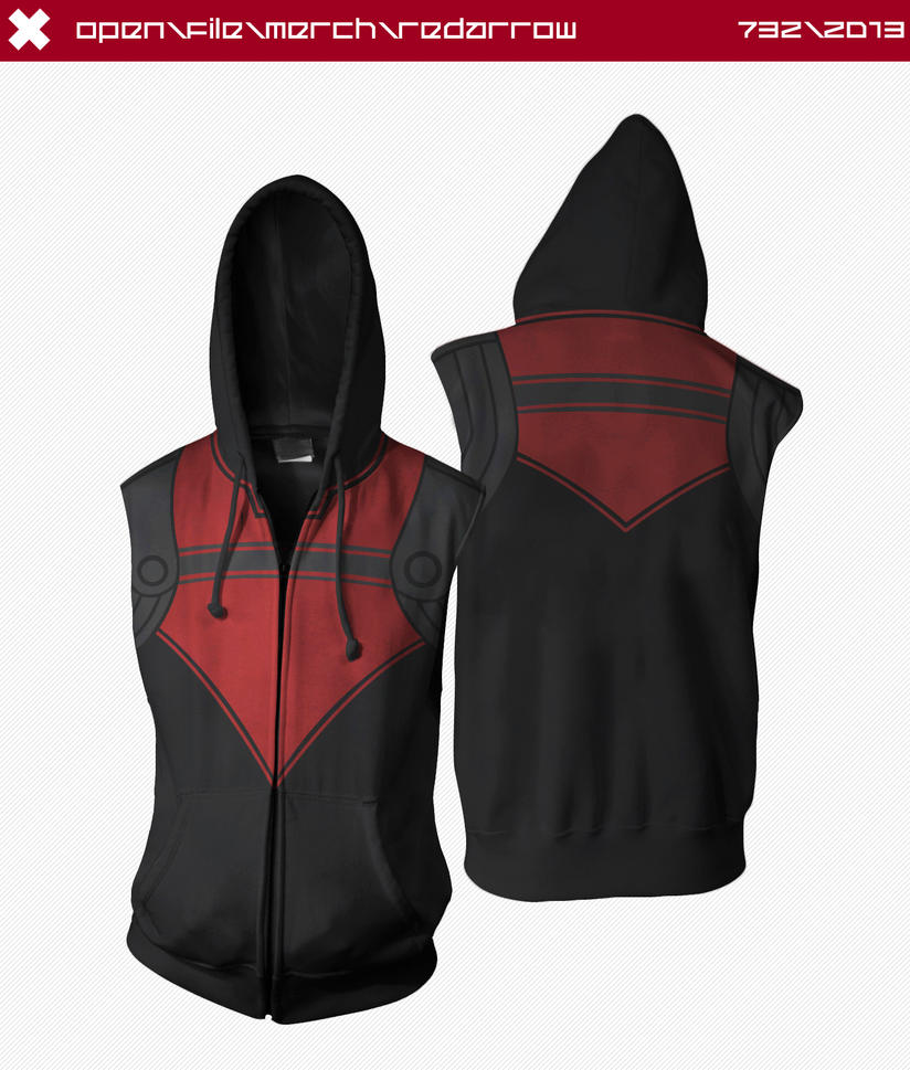 Red Arrow Hoodie by seventhirtytwo
