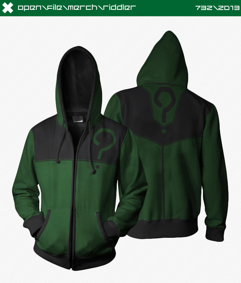 Riddler Hoodie by seventhirtytwo