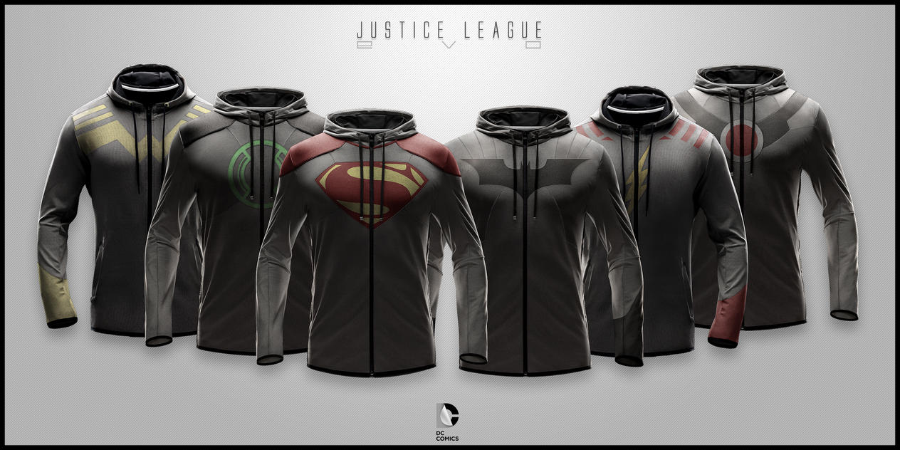 Justice League EVO by seventhirtytwo