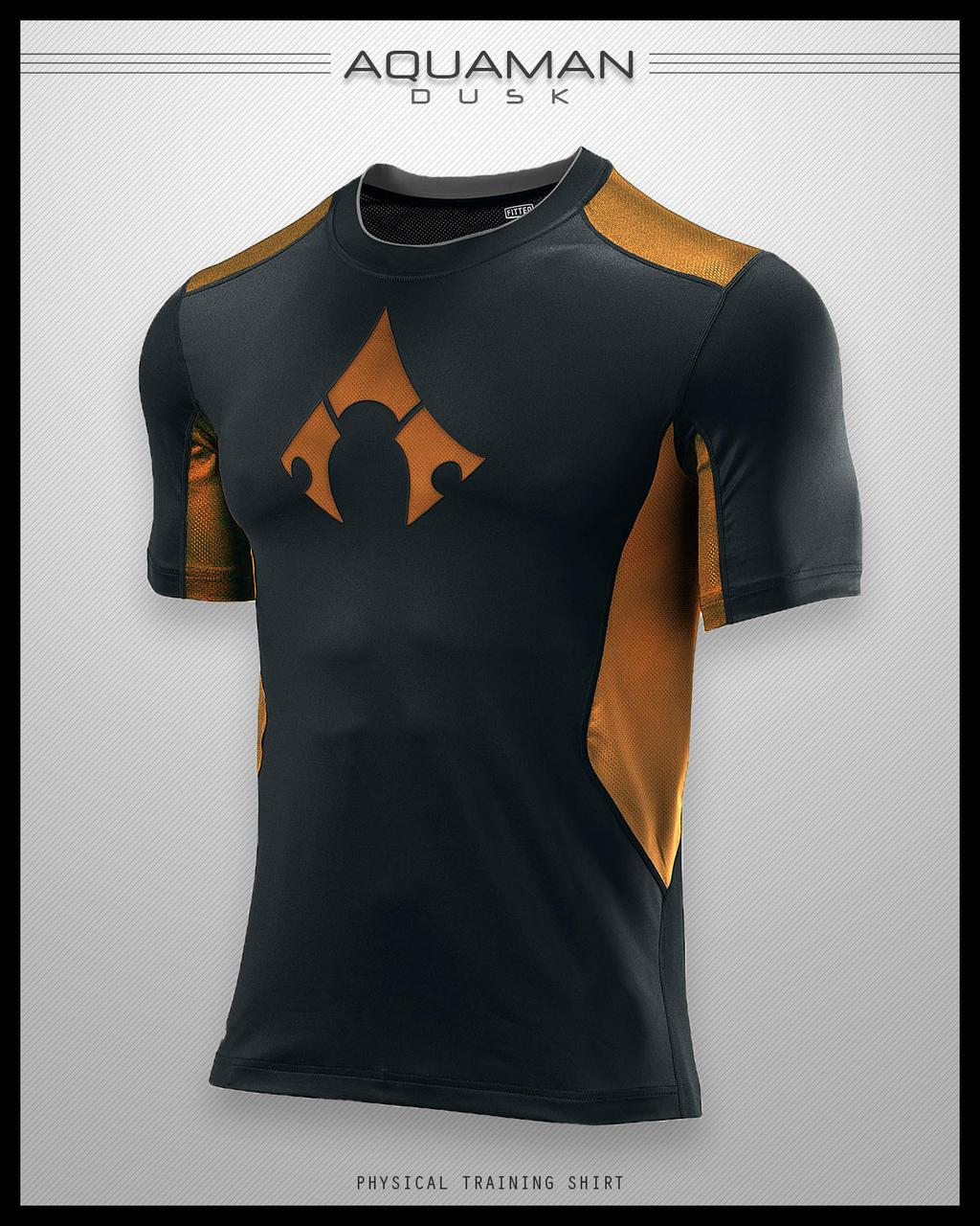Aquaman Dusk Shirt by seventhirtytwo