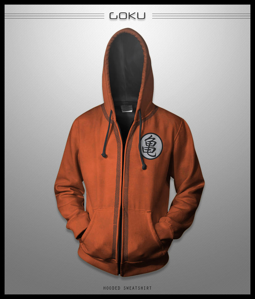 Goku Hoodie by seventhirtytwo