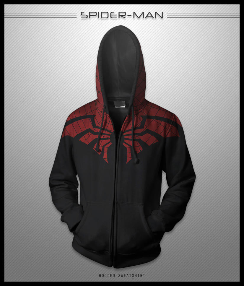 Spider-Man Hoodie by seventhirtytwo