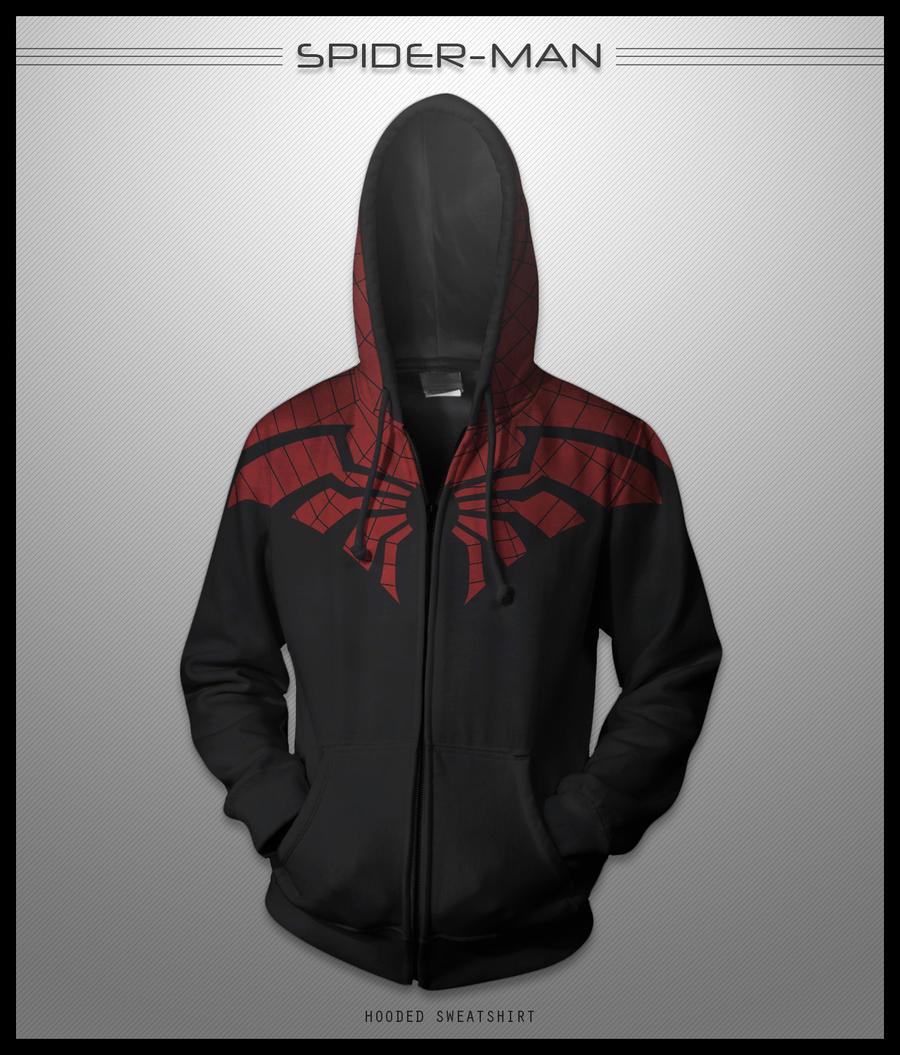 Spider-Man Hoodie by seventhirtytwo