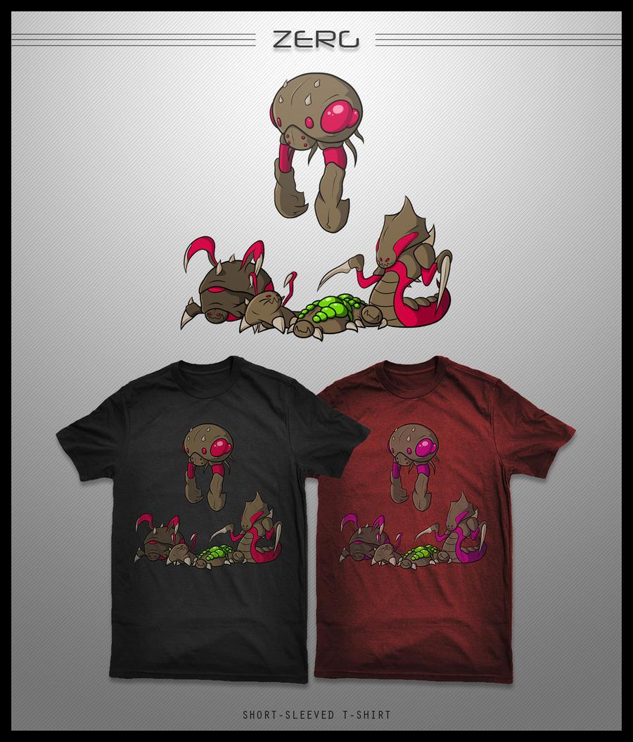 Zerg Shirt by seventhirtytwo