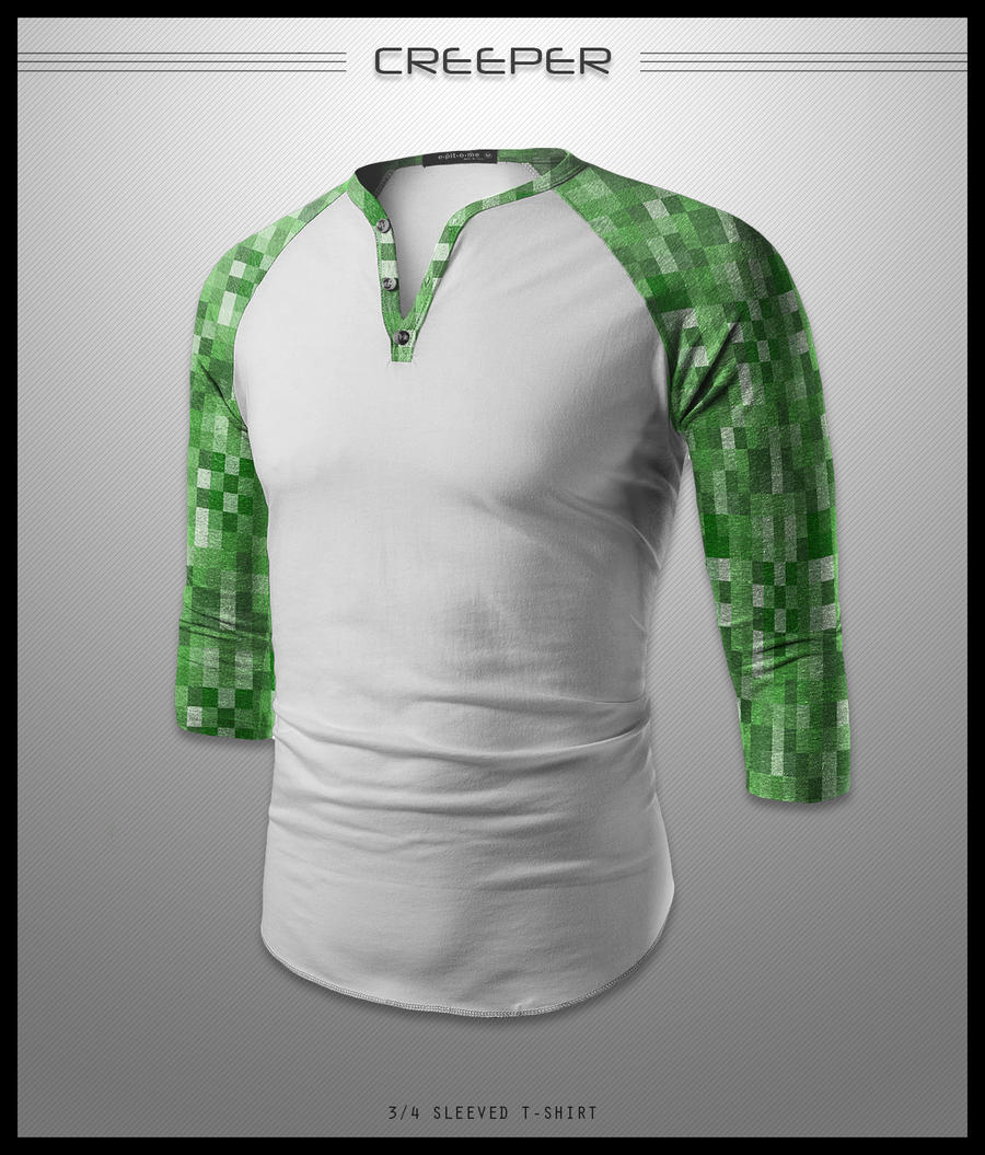 Creeper Shirt by seventhirtytwo