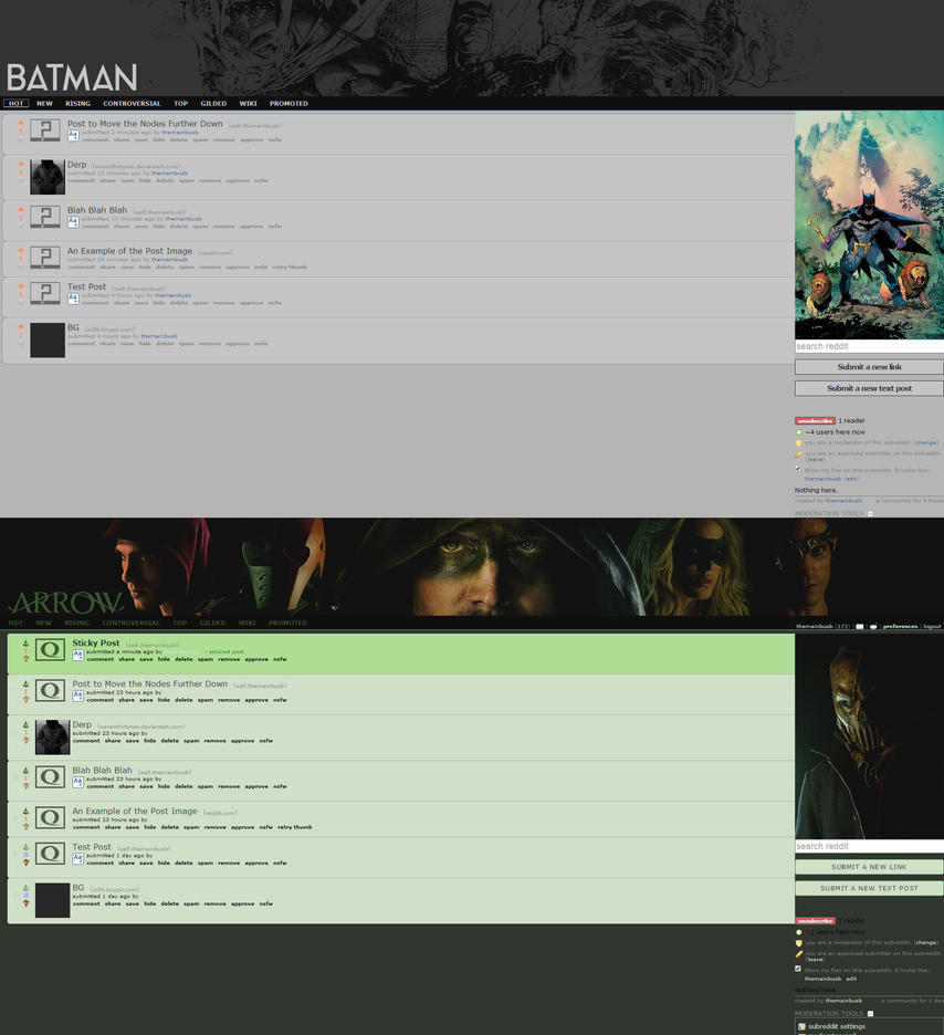 /r/batman | /r/arrow Concepts by seventhirtytwo