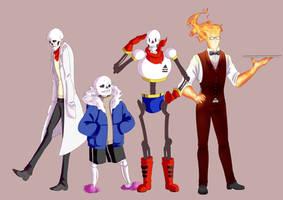 Undertale Character bundle Nr.1 by GhostLiliane